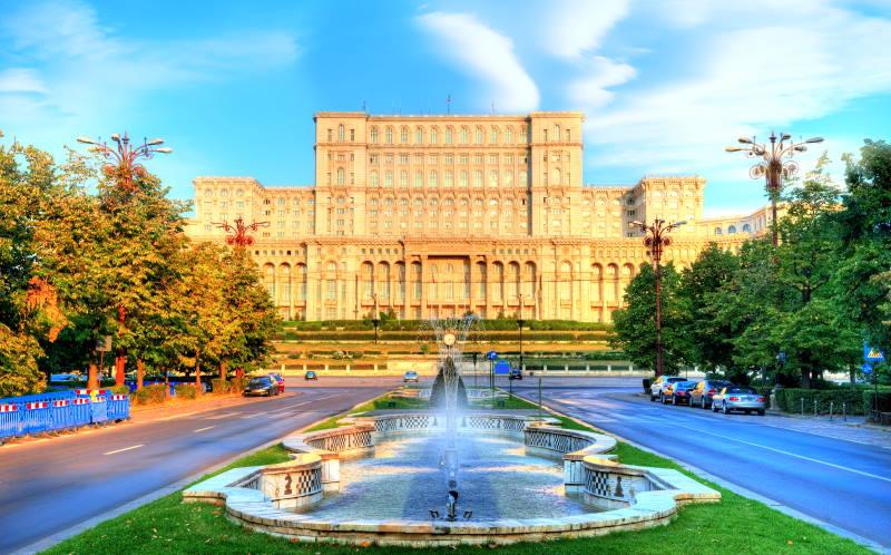 Bucarest, la capital de Rumanía