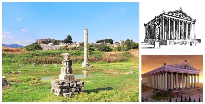 Conoce el Templo de Artemisa en Efeso