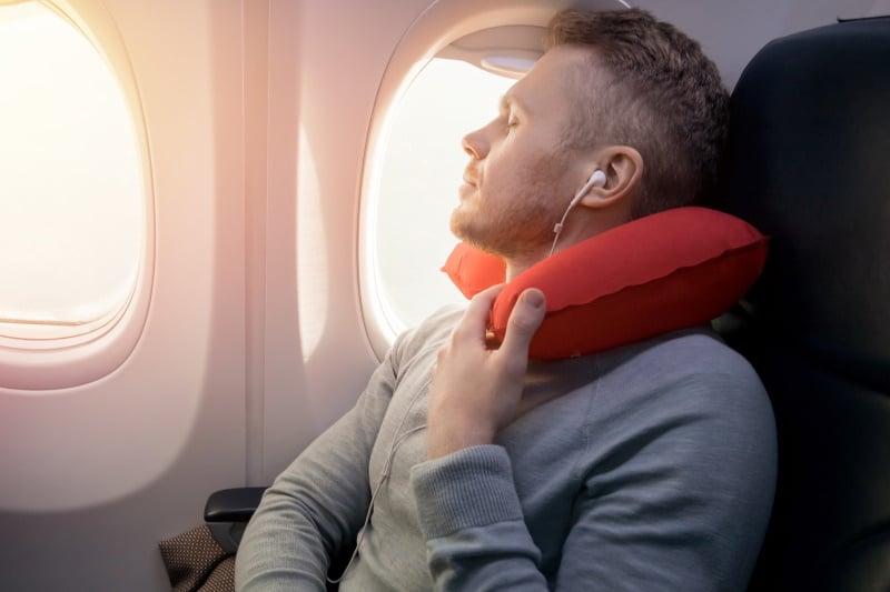 Viaja cómodamente con la almohada viscoelástica