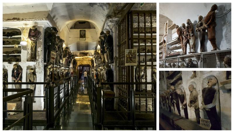 Que ver y hacer en Palermo, Catacumbas de los Capuchinos