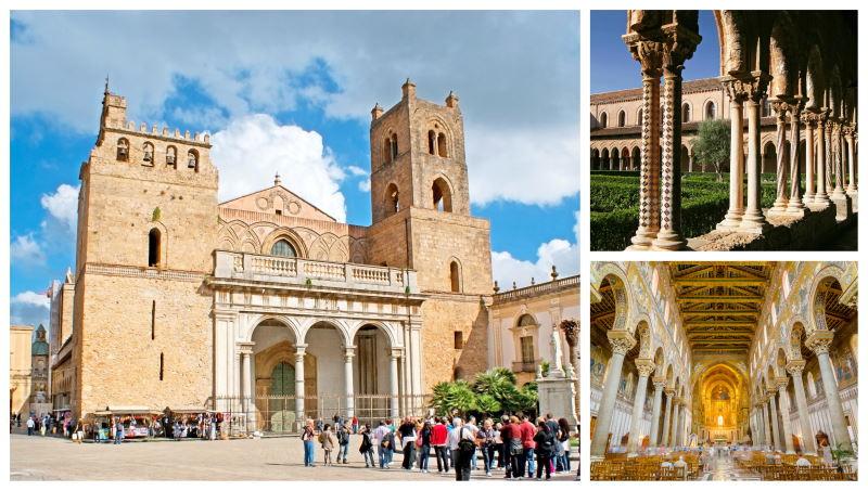 La Catedral de Monreale se encuentra en Palermo