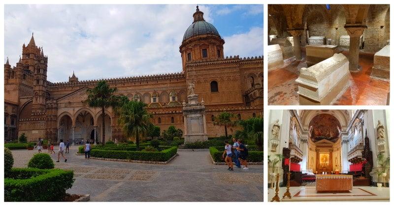 Visitar la Catedral de Palermo, es una de las mejores opciones que ver y hacer en Palermo