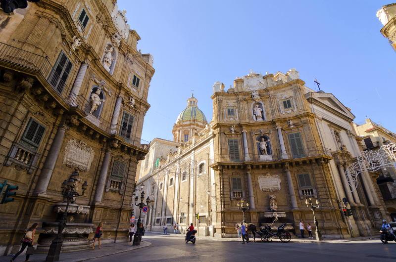 Quattre Canti, una de las mejores cosas que ver y hacer en Palermo