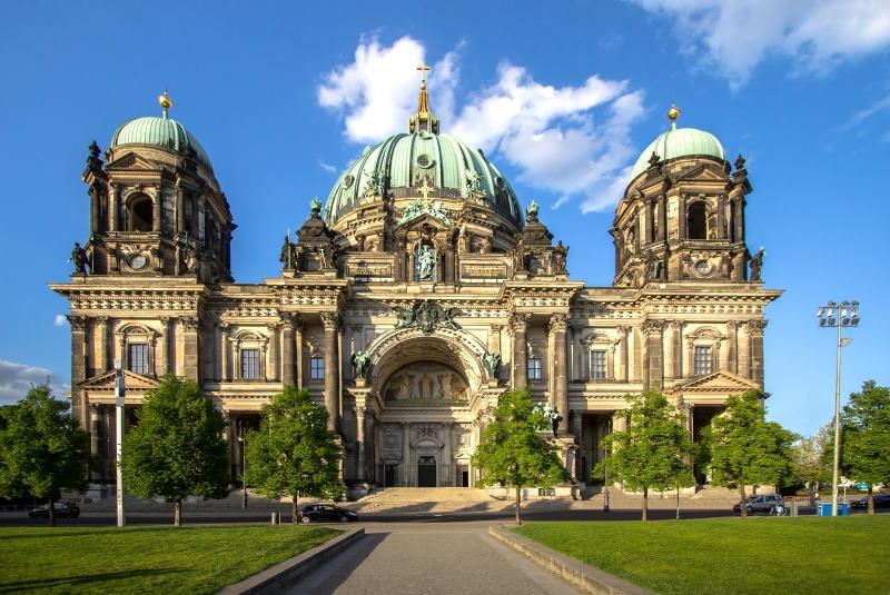 La Catedral de Berlín es uno de los lugares más populares