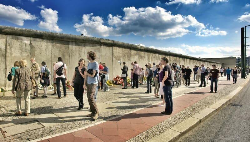 El pasado histórico del muro de Berlín