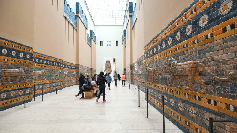 Conoce las obras arquitectónicas mesopotámicas como la Puerta de Ishtar