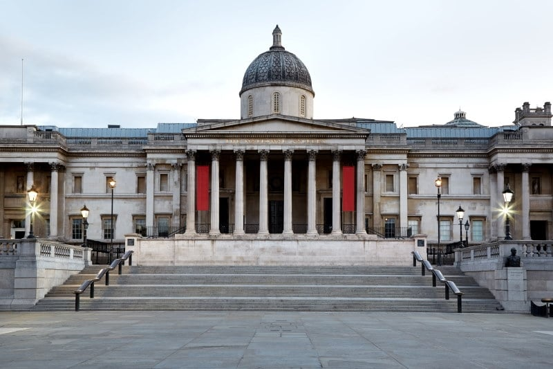 La National Gallery en Londres y las obras famosas