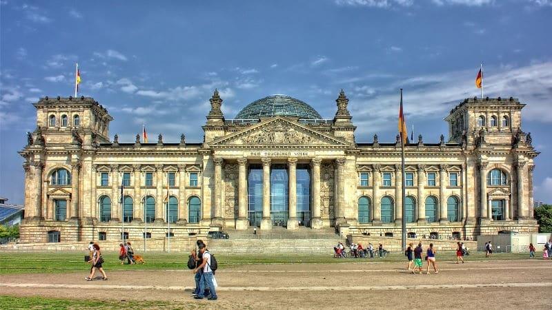 El Reichstag de Berlín es muy popular