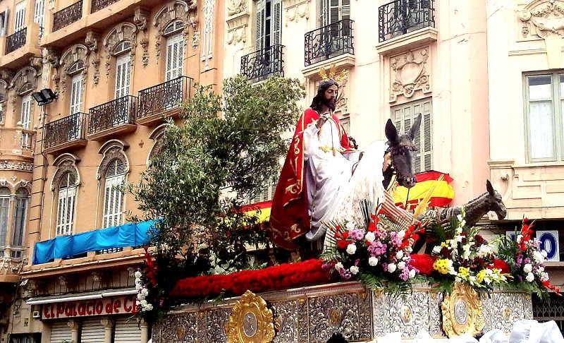 Pollinica es uno de los pasos de Semana Santa más importantes de Melilla