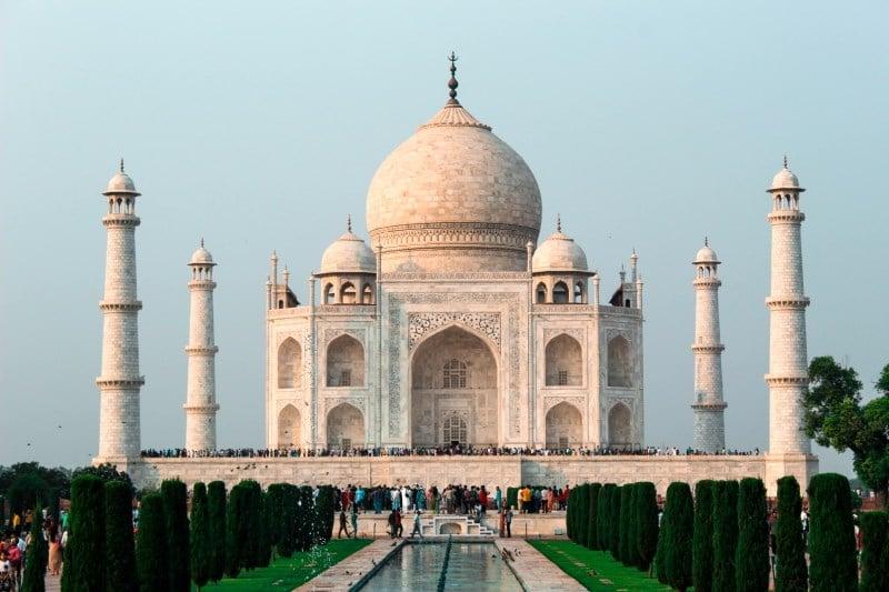 El Taj Mahal es la última de las maravillas del mundo