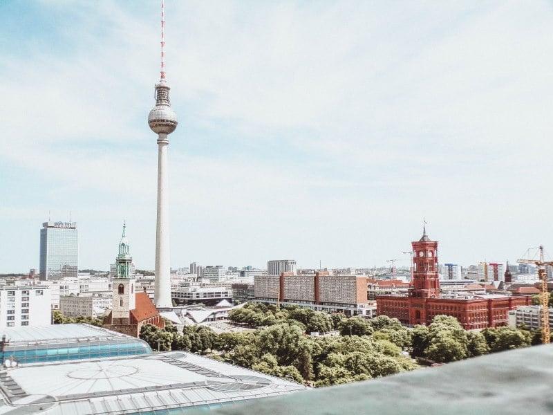 La Torre de Televisión de la capital de Alemania