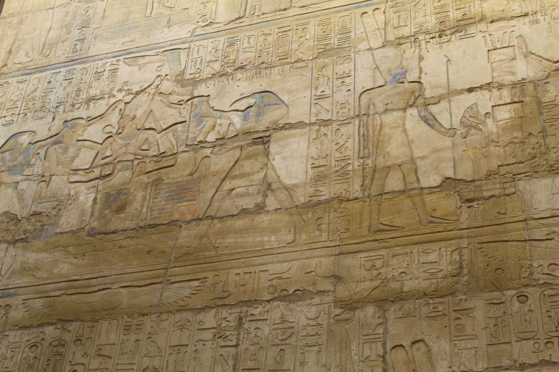 Inscripciones que ver en Luxor