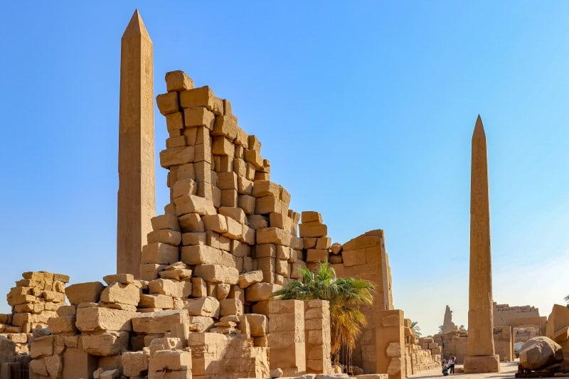 Obeliscos del Templo de Karnak que ver en Luxor