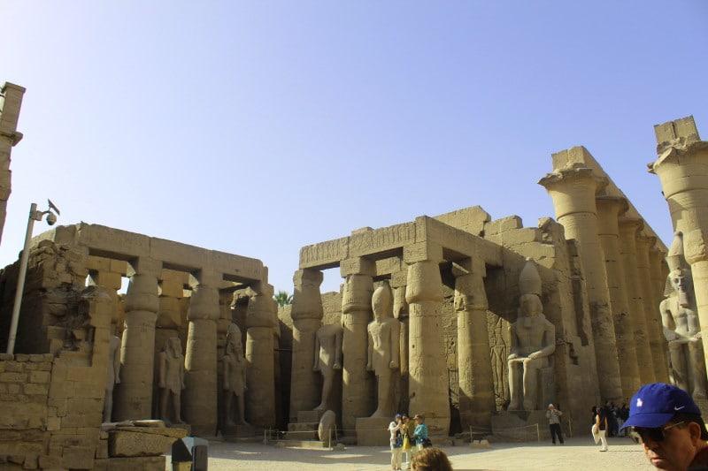 Sala Hipostila, Templo de Luxor
