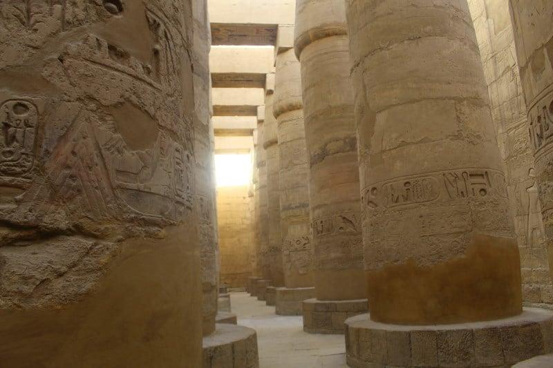 Sala Hipóstila, Templo de Karnak