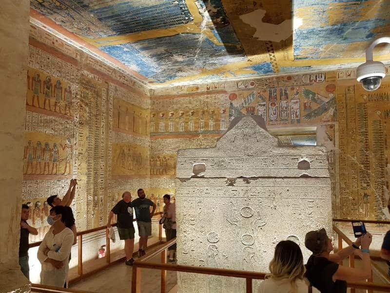 Conoce las tumbas de los faraones del Valle de los Reyes