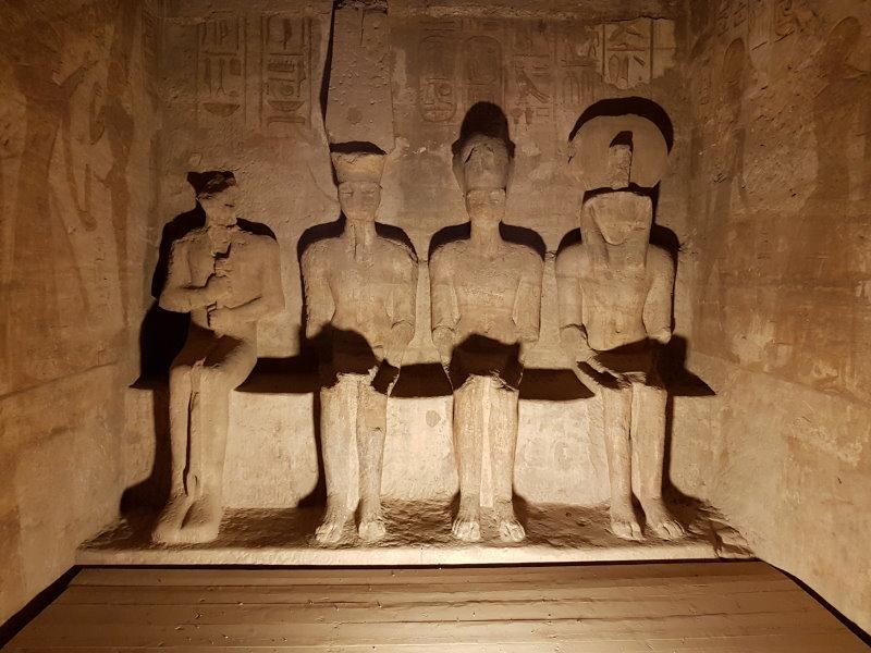 Descubre el interior del Gran Templo de Abu Simbel