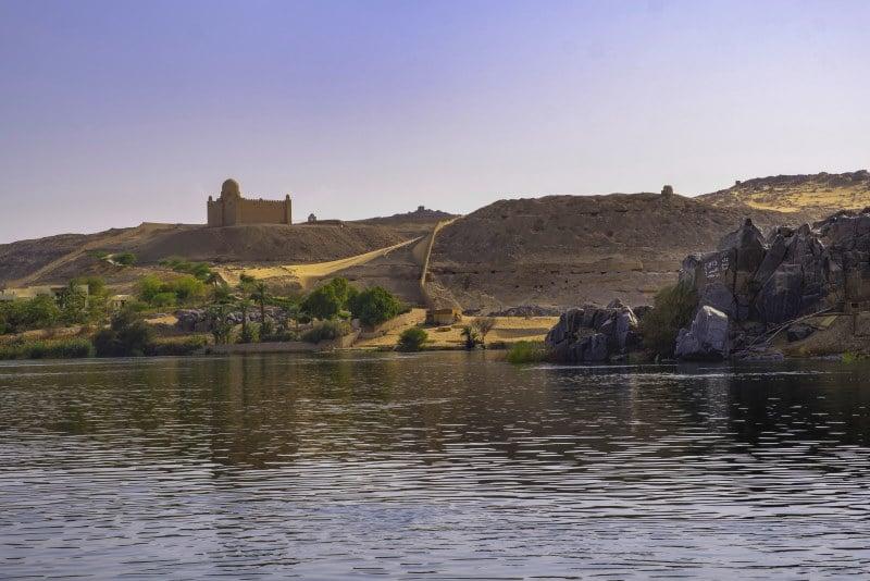 Recorre el río Nilo en faluca