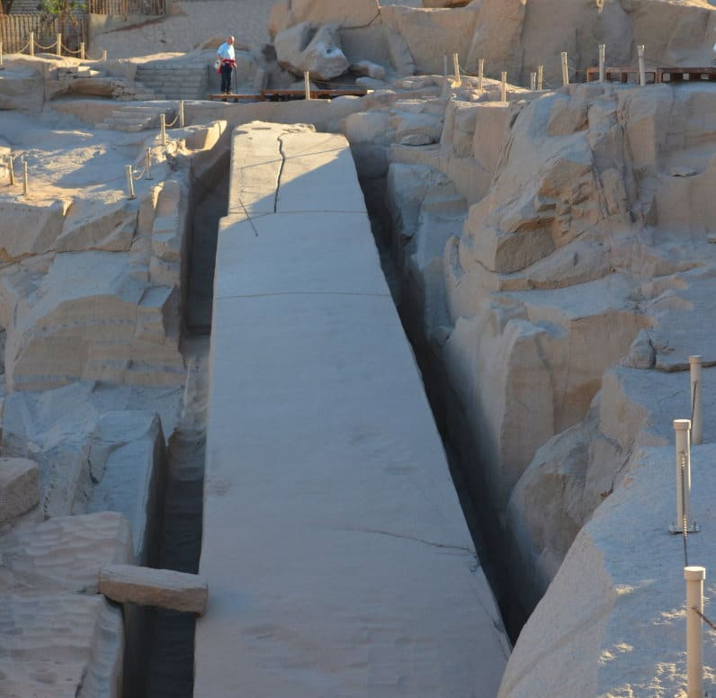 Obelisco Inacabado que ver en Aswan