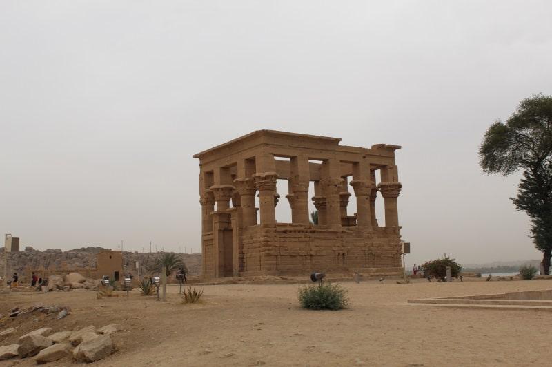 Conoce el Quisco de Trajano en el Templo de Philae