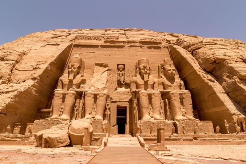 Visita el Templo de Abu Simbel