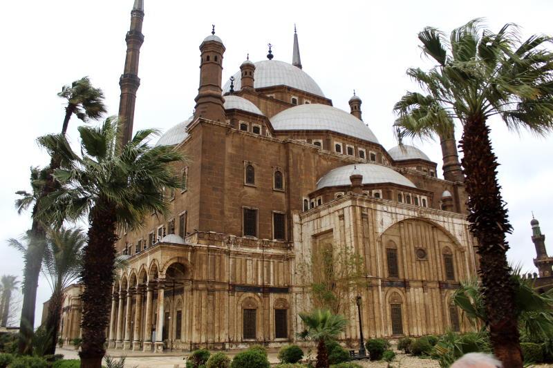 Ciudadela de Saladino en El Cairo
