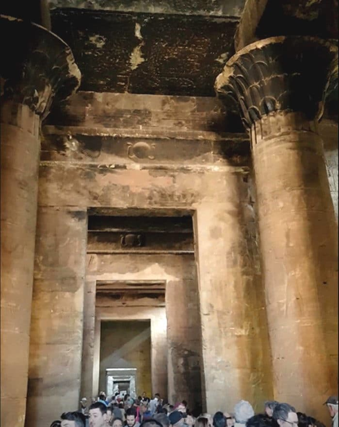 Estancias del Templo de Edfu