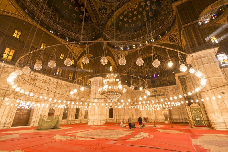 Conoce la Mezquita de Alabastro en El Cairo