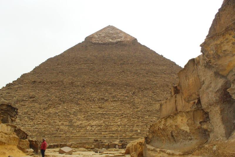 Descubre la pirámide de Kefrén