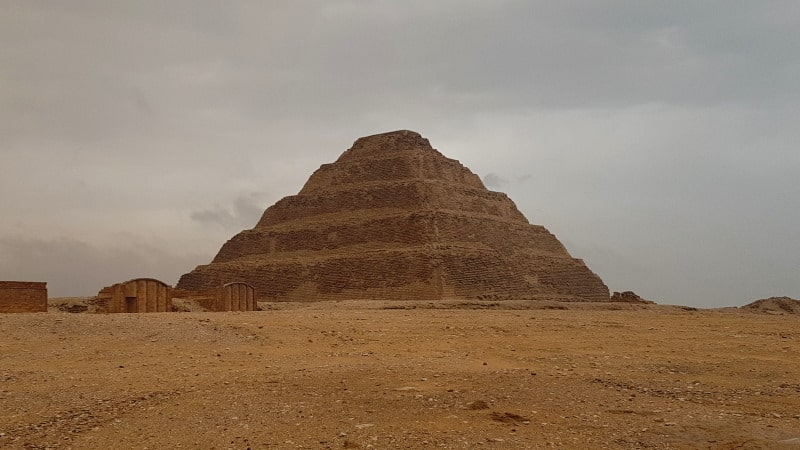 Conoce el complejo funerario de Saqqara
