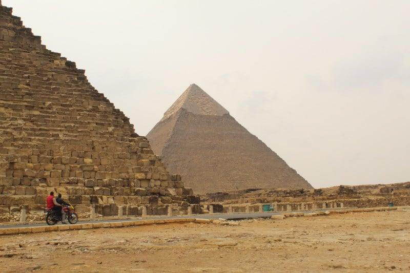 Pirámides de Egipto en Guiza