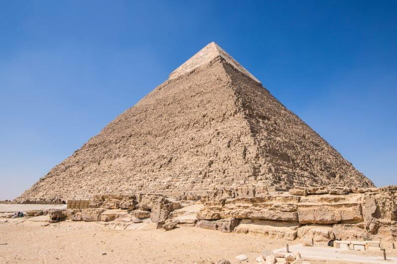 La Pirámide de Kefren entre las mejores pirámides de Egipto