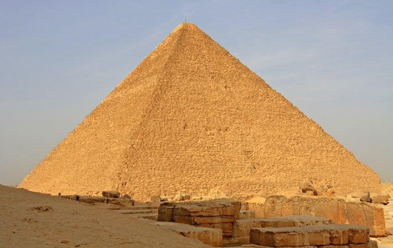 Visita la Gran Pirámide de Keops