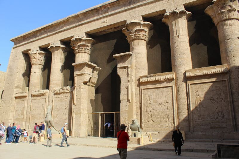 El Templo de Edfu, uno de los mejor conservados en Egipto