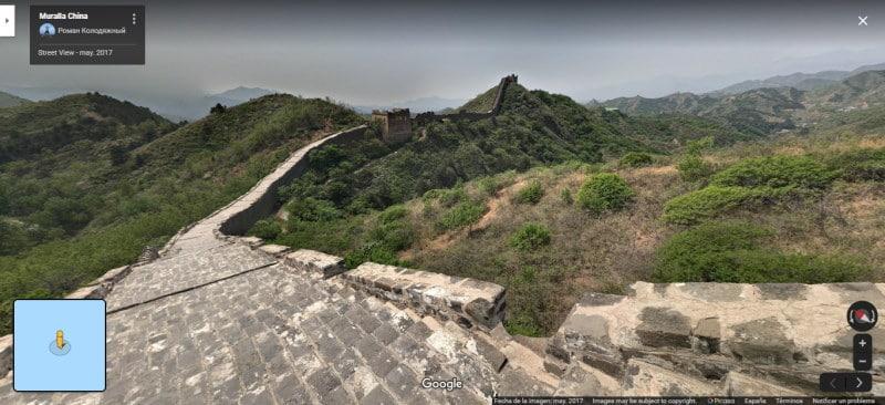 Conoce la Gran Muralla China