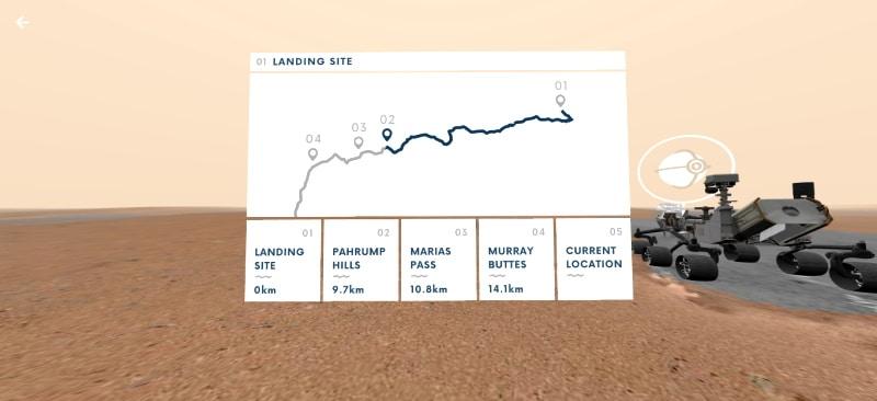 Conduce el rover Curiosity de Marte