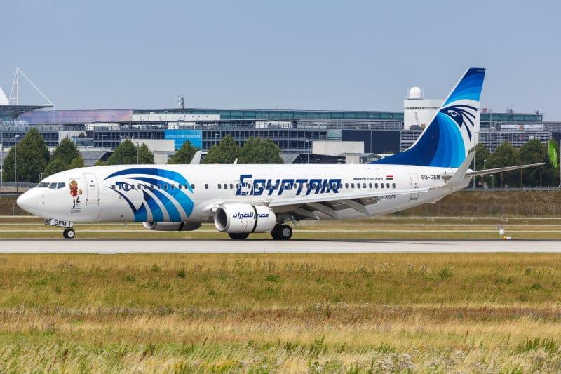 Avion de Egyptair hacia Egipto