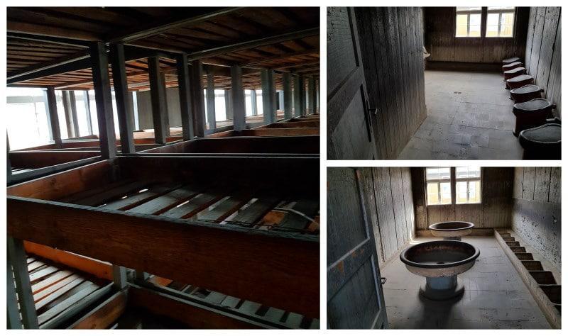 Interior de los barracones