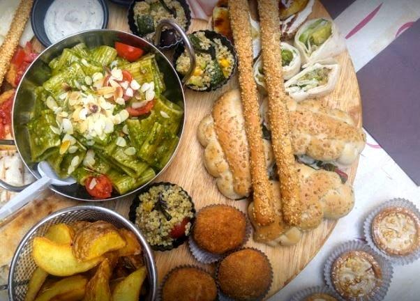 Gran variedad de platos