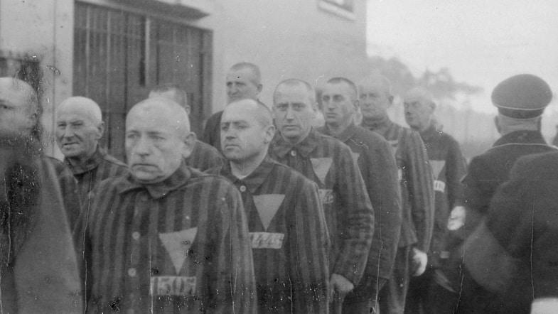 Imagen del campo de concentración de Sachsenhausen