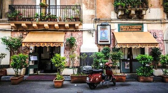 Come bien y barato en Catania