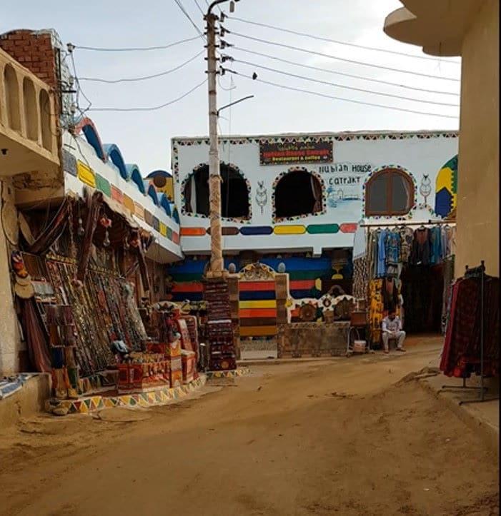 Visita al poblado nubio en Egipto