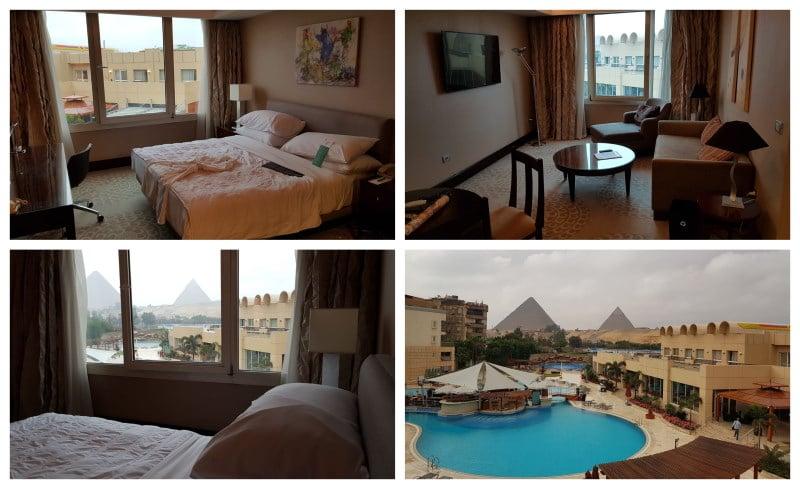 Vistas de la habitacion del hotel Le Méridien Pyramids