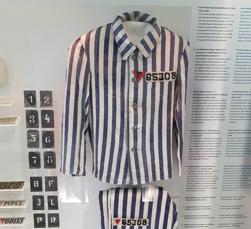 Visitar el campo de concentración de Sachsenhausen