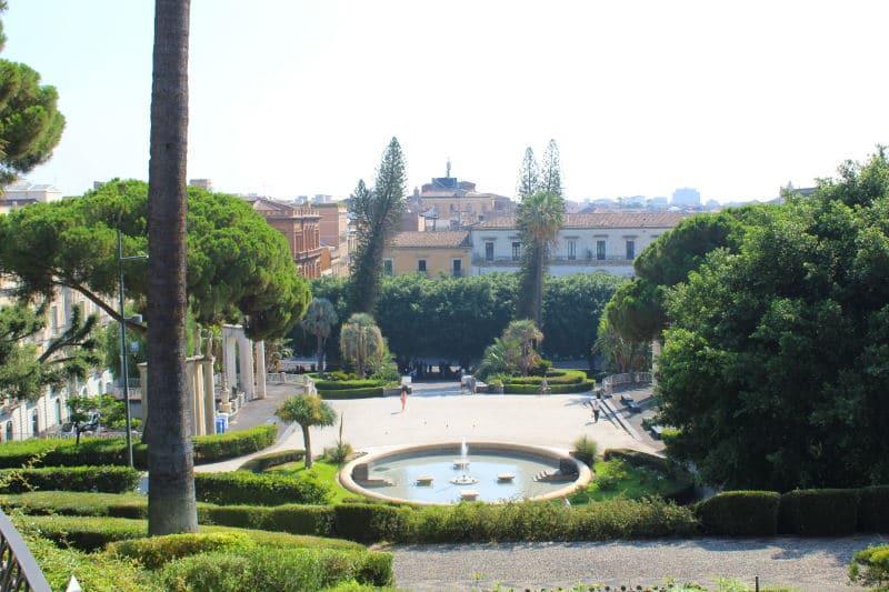 El parque Villa Bellini
