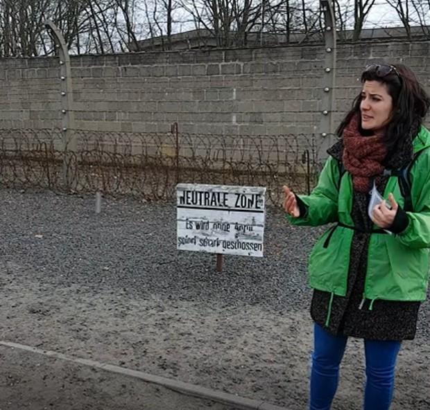 Visita guiada por el campo de concentracion