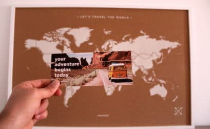 Decoración viajera para tu hogar
