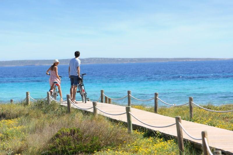 Alquilar bicicleta en Formentera