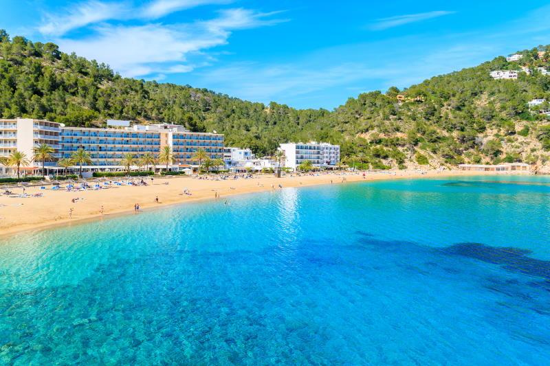 Una de las mejores playas y calas de Ibiza