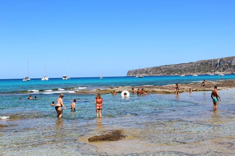 És Calò es una de las mejores calas de Formentera